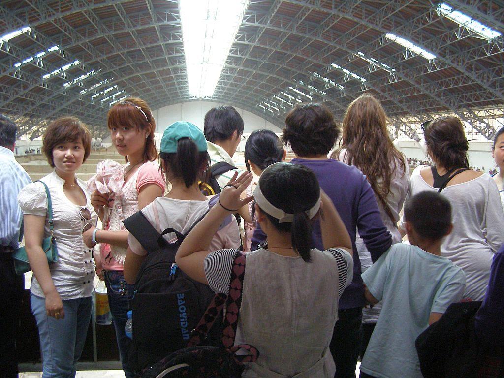 Selfie-Point in der Halle der Terrakottaarmee